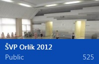 Škola v přírodě - Orlík 2012